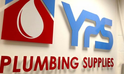 CNC cut lettering YPS