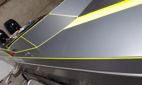 boat vinyl wrap