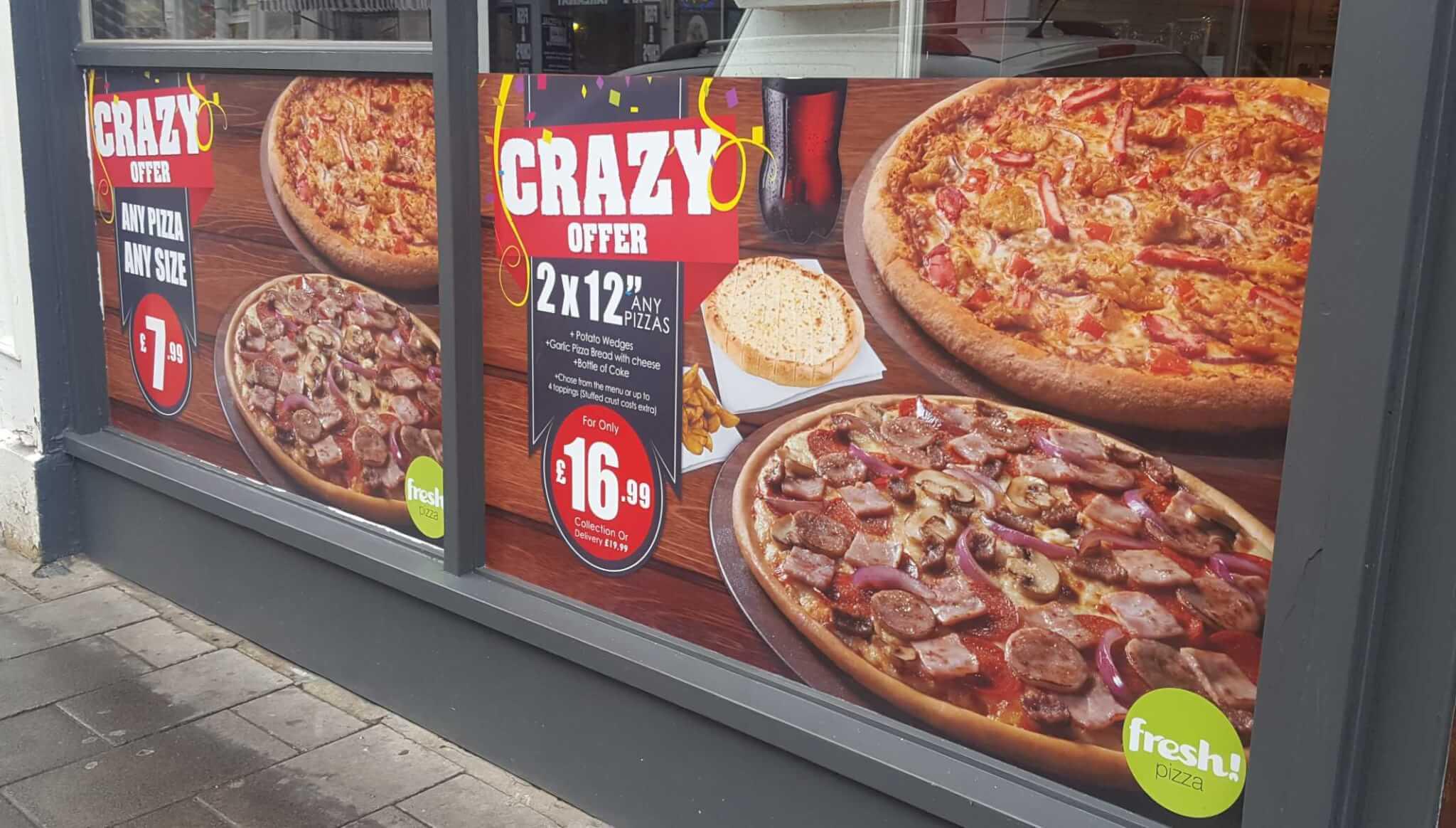 shop window graphics