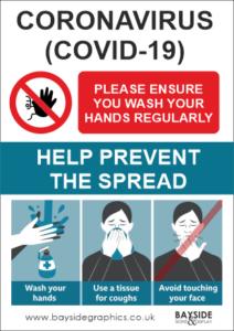 Free Corona Awareness Signs Bayside Signs & Display